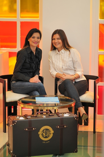 TBG Co-Founders: Marissa Tejada and Elena Sergeeva @Grecotel Pallas Athena