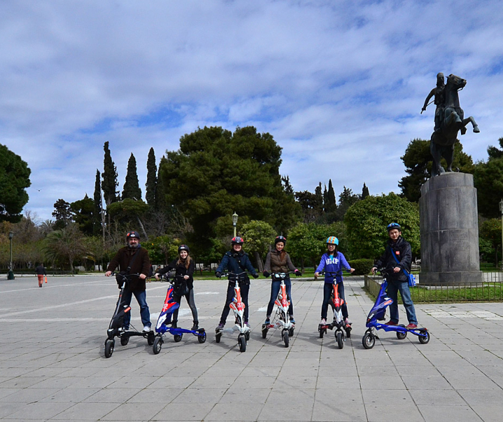 TBG Scooterise through Athens!
