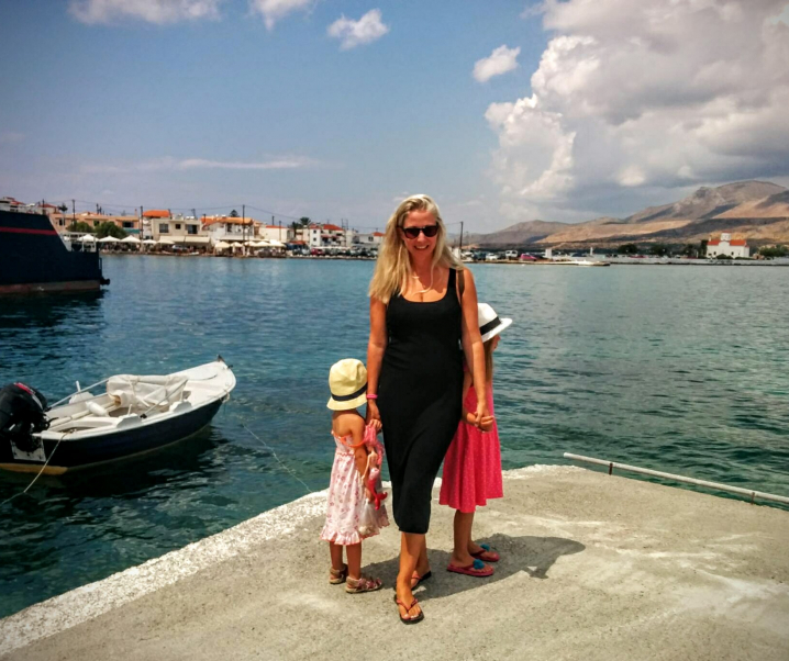 10 Questions with TBG Featured Member Celeste Tat, Family Goes out in Greece