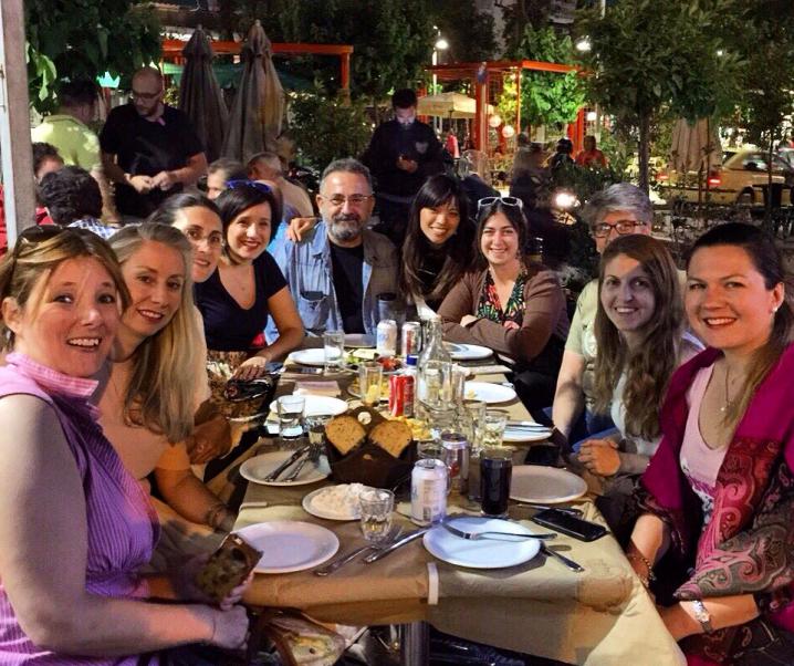 TBG meets over Greek Souvlaki at Piotita Paliakis in Pangrati