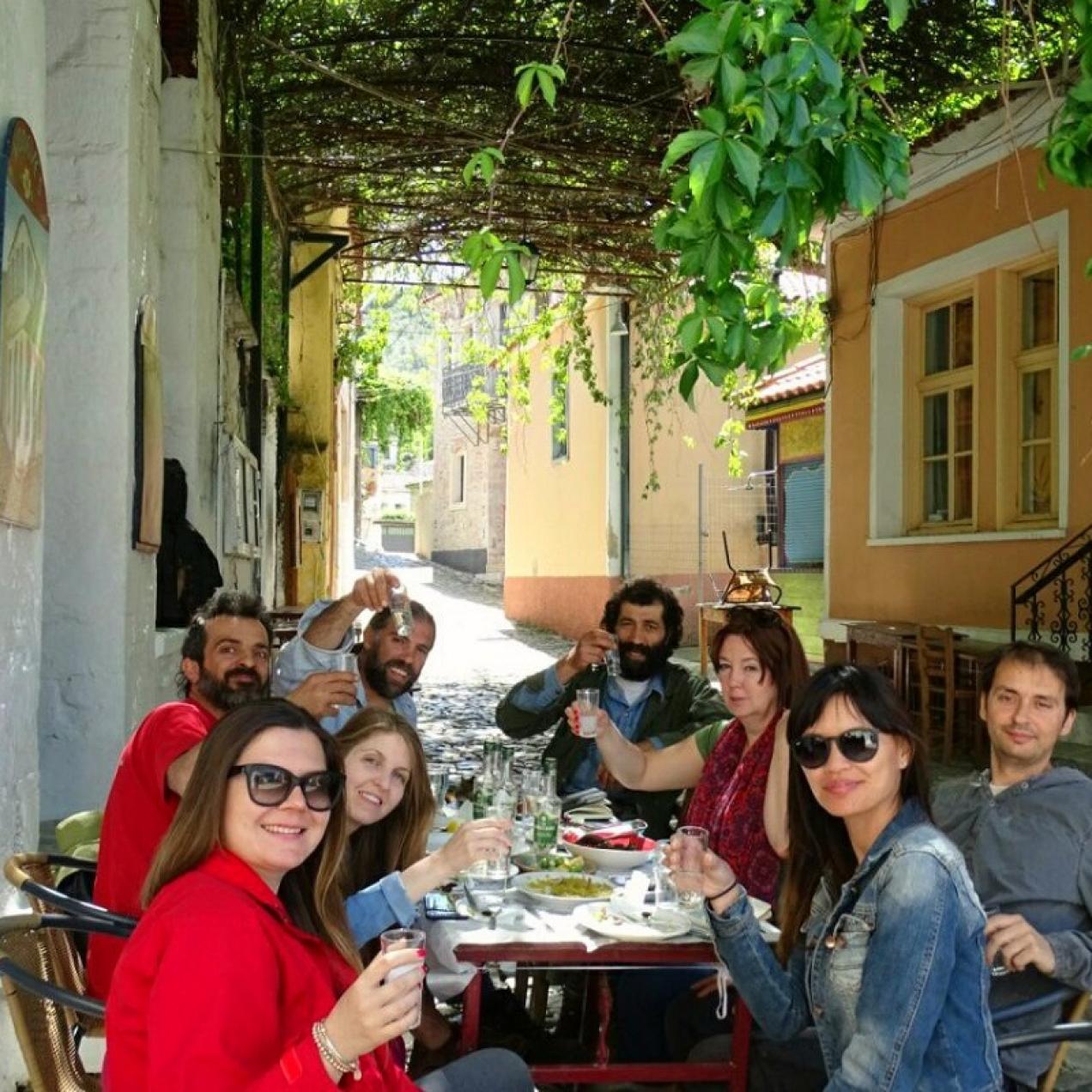 TBG Travels to Lesvos Island