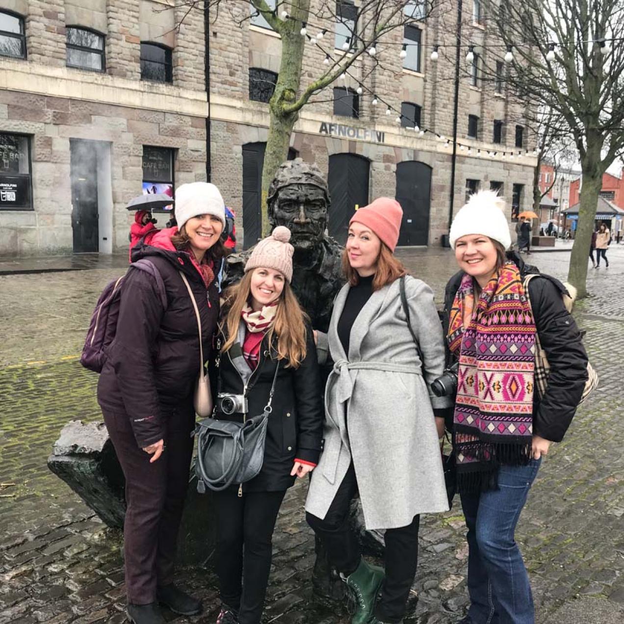 Travel Bloggers Greece go to Bristol